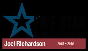 Joel Richardson, Five Star Mortgage Professional