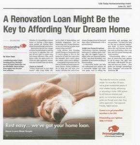 austin renovation loan dream home