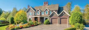 exterior austin house driveway